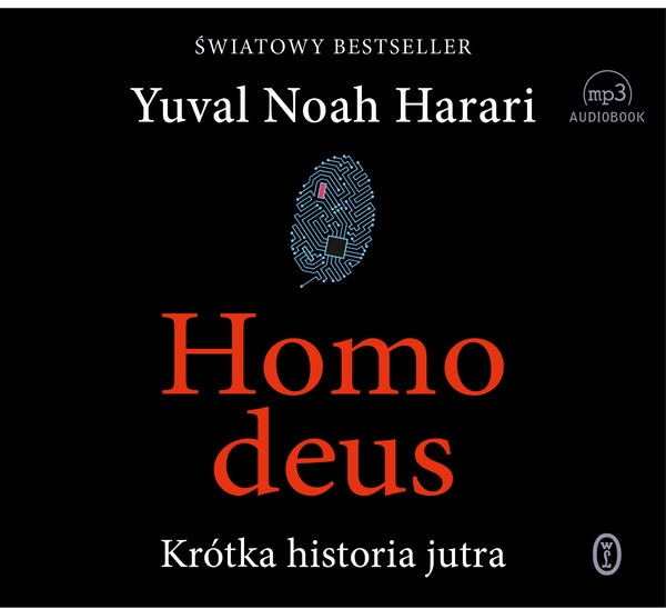 Homo Deus Krótka historia jutra Audiobook CD Audio