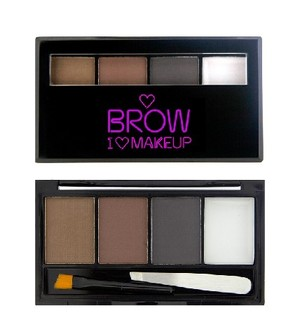 I Heart Makeup Brows Kit - Bold Is Best Zestaw do makijażu brwi