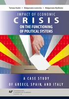 Impact of economic crisis on the functioning of political systems. A case study of Greece, Spain, and Italy - pdf