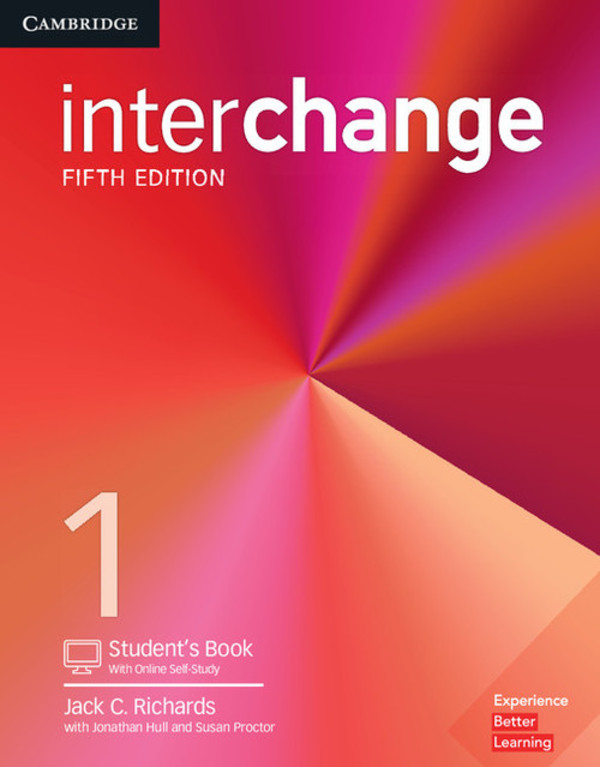 Interchange 1 Student`s Book with Online Self-Study