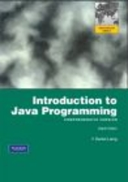 Introduction to Java Programming 8e