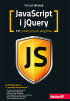 JavaScript i jQuery - Witold Wrotek
