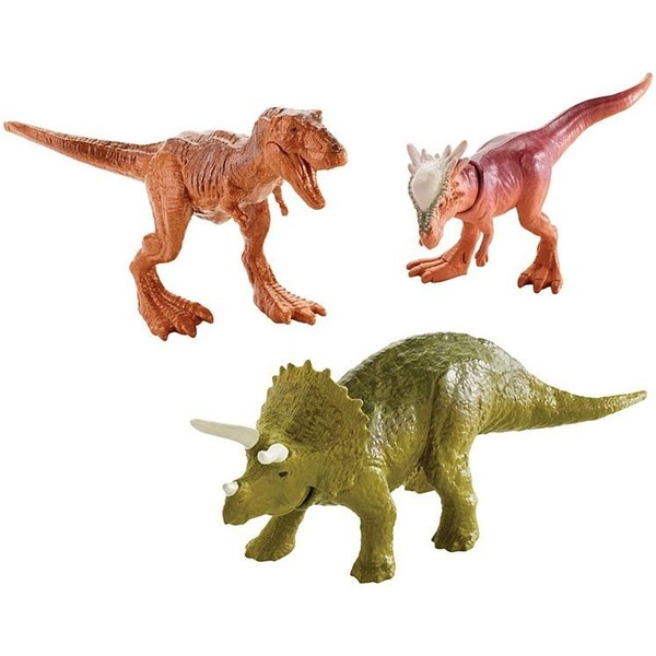 Mattel Jurassic World Mini Dinozaury Trzypak Fpn72fpn84 3621zł W