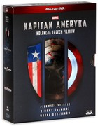 Kapitan Ameryka Trylogia 3D - Joe Johnston, Joe Russo, Anthony Russo