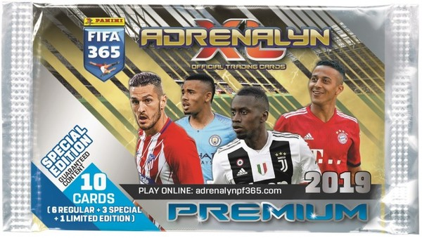 e5e8b70de Panini FIFA 365 Adrenalyn XL 2019 Saszetka Premium 19,03zł - w ...