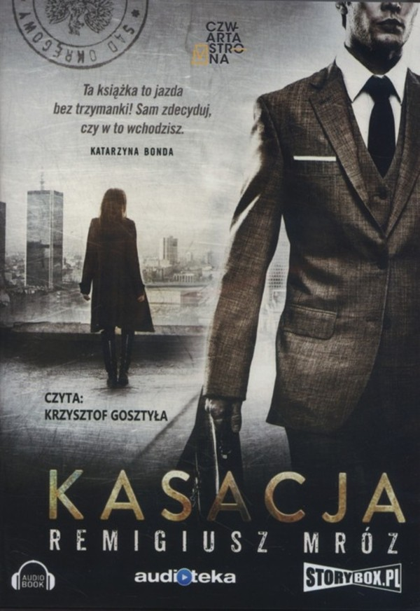 Kasacja Audiobook CD Audio