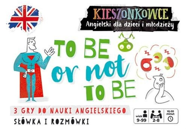 Gra 3 Kieszonkowce angielskie To be or not to be (9+)