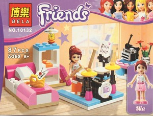 Klocki Bela Friends 10132 Pokój Muzyczny Mii 87 Elementów 3212zł