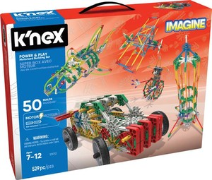K`Nex Imagine Power & Play 50 modeli Zestaw Konstrukcyjny