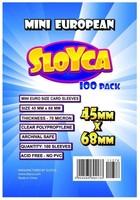 Koszulki na karty Sloyca Mini European 45 x 68 mm