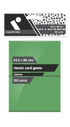 Rebel Koszulki na karty (63,5x88 mm) 100 szt. Zielone