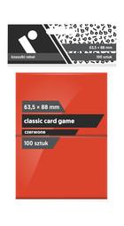 Rebel Koszulki na karty (63,5x88 mm) 100 szt. Czerwone