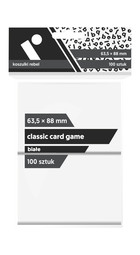 Rebel Koszulki na karty (63,5x88 mm) 100 szt. Białe