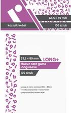 Koszulki na karty Rebel Classic Card Game Longsleeve (63,5x89 mm)