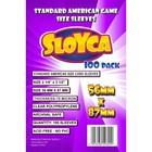 Koszulki na karty Sloyca Standard American 56x87mm