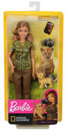 Lalka Barbie National Geographic Fotoreporterka -