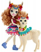 Lalka Enchantimals Lluella Llama + Fleecy -