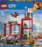 LEGO City Remiza Strażacka 60215 -