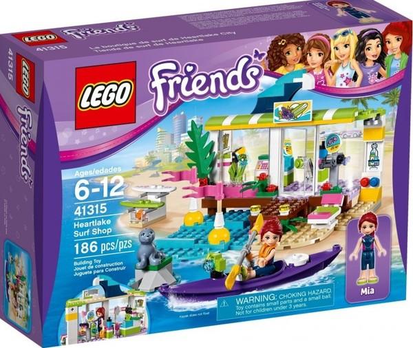 Lego Friends Sklep Dla Surferów W Heartlake 41315 Uszkodzone