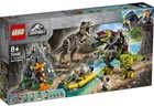 LEGO Jurrasic World Tyranozaur kontra mechaniczny dinozaur 75938 -
