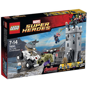 LEGO Marvel Super Heroes Demolka w fortecy Hydr 76041