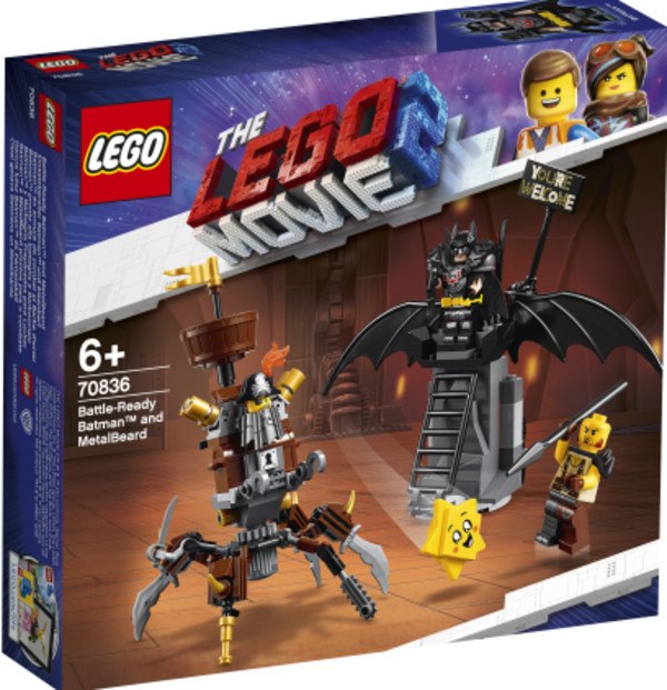 Lego Movie Batman I Stalowobrody 70836 6224zł W Gandalfcompl