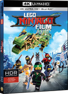 LEGO NINJAGO: Film (4K UltraHD) - Bob Logan, Charlie Bean, Paul Fisher