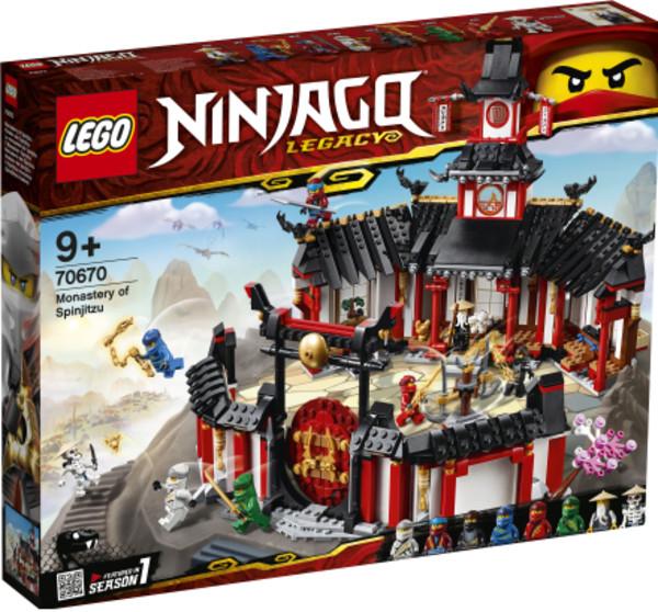 Nowoczesna architektura LEGO Ninjago Klasztor Spinjitzu 70670 288,47zł - w Gandalf.com.pl FE15