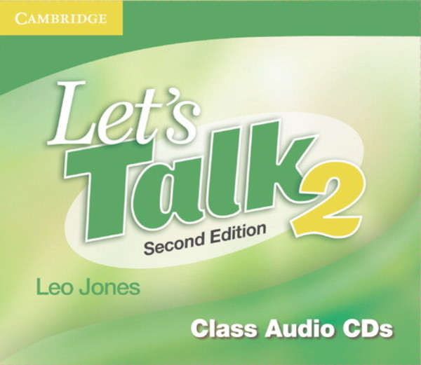 Let`s Talk. Class Audio CDs 2 Second Edition
