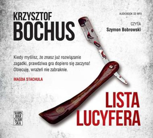 Lista Lucyfera Audiobook CD Audio