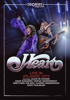 Live in Atlantic City (DVD) - Heart