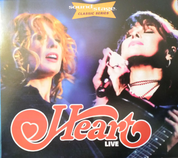 Sound Stage: Heart - Live (CD+DVD)