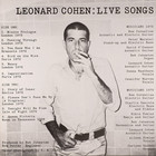 Live Songs (LP) - Leonard Cohen