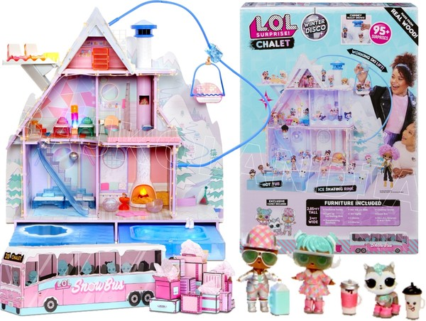 L.O.L. Surprise Winter Disco Chalet Domek dla lalek 562207