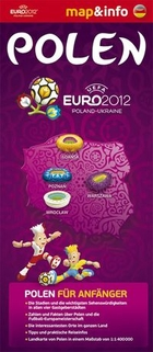 Map and info. Polen Euro 2012 Scale 1:1400000