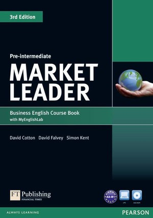 MARKET LEADER Pre-Intermediate. Coursebook Podręcznik + DVD + MyEnglishLab 3rd edition
