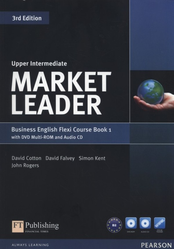 Market Leader Upper-Intermediate. Business English Flexi Course Book 1+ CD + DVD 3rd Edition