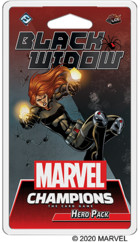 FFG Gra Marvel Champions: Black Widow Hero Pack