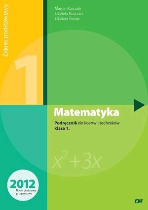 matematyka klasa 1 podręcznik zakres podstawowy