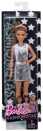 Mattel Barbie Fashionistas Sweet For Silver -