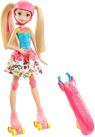 Mattel Barbie Video Game Hero Barbie na wrotkach -