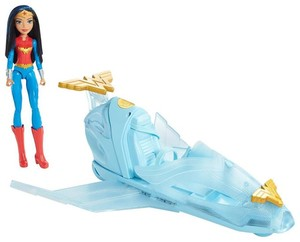 Mattel DC Super Hero Girls Odrzutowiec Wonder Woman DYN05
