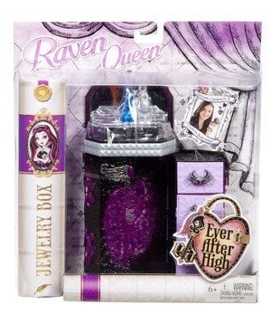 Mattel EVER AFTER HIGH Raven magiczne puzderko