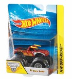 Mattel Hot Wheels O Monster Jam Superterenówka (mix wzorów) -