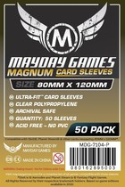 MAYDAY Koszulki Magnum Gold Ultra-Fit Czarne (80x120mm)
