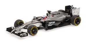 McLaren Mercedes MP4-29 #22 Jenson Button China GP 2014 Skala 1:43