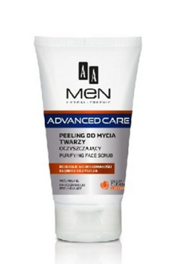 Men Advanced Care Peeling do mycia twarzy