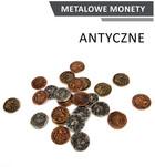 Metalowe Monety Antyczne (zestaw 24 monet)