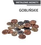 Metalowe monety Goblińskie (zestaw 24 monet)