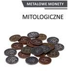 Metalowe monety Mitologiczne (zestaw 24 monet)